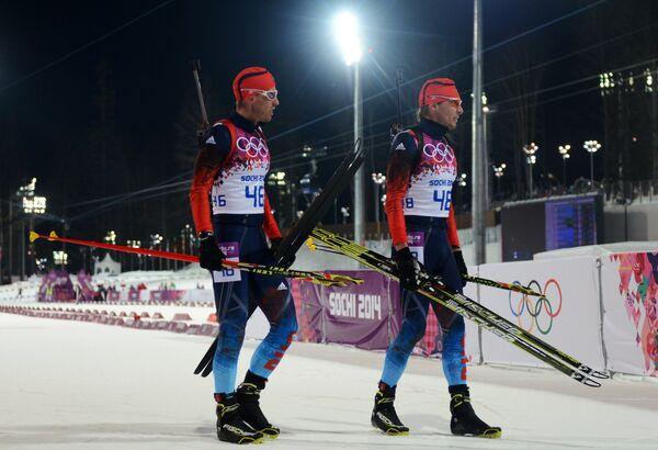 Дмитрий Малышко и Антон Шипулин (слева направо)