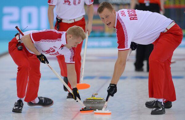 Алексей Стукальский и Петр Дрон (справа)
