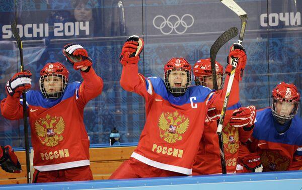 Ольга Сосина, Екатерина Смоленцева, Екатерина Лебедева и Татьяна Бурина (слева направо)