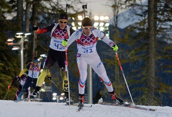 Слева направо: Эрик Лессер (Германия) и Жан-Гийом Беатрикс (Франция)