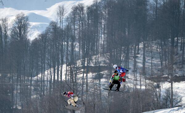 Сноуборд-кросс