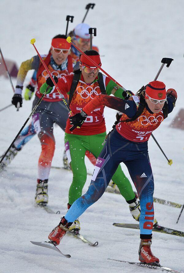 Справа налево: Яна Романова (Россия), Людмила Калинчик (Белоруссия)
