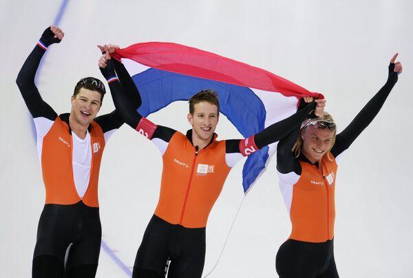 Спортсмены сборной Нидерландов