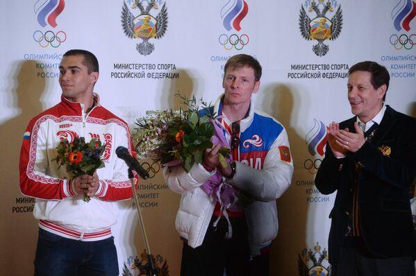 Алексей Негодайло, Александр Зубков и Александр Жуков (слева направо)