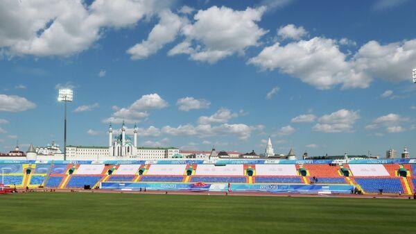 Вид на стадион Центральный