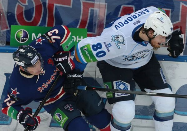 Максим Чудинов и Николай Антропов (слева направо)