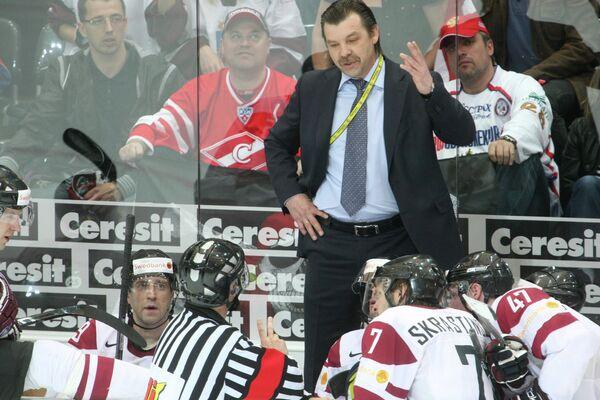 главный тренер сборной Латвии Том Кулен