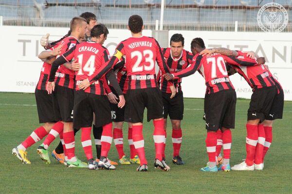 Футболисты пермского Амкара