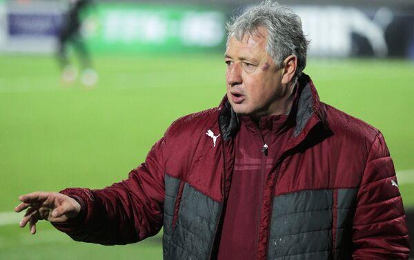 Главный тренер футбольного клуба Рубин Ринат Билялетдинов