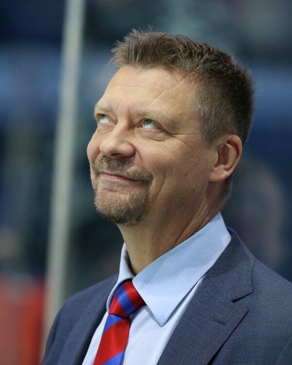 Главный тренер СКА Юкка Ялонен
