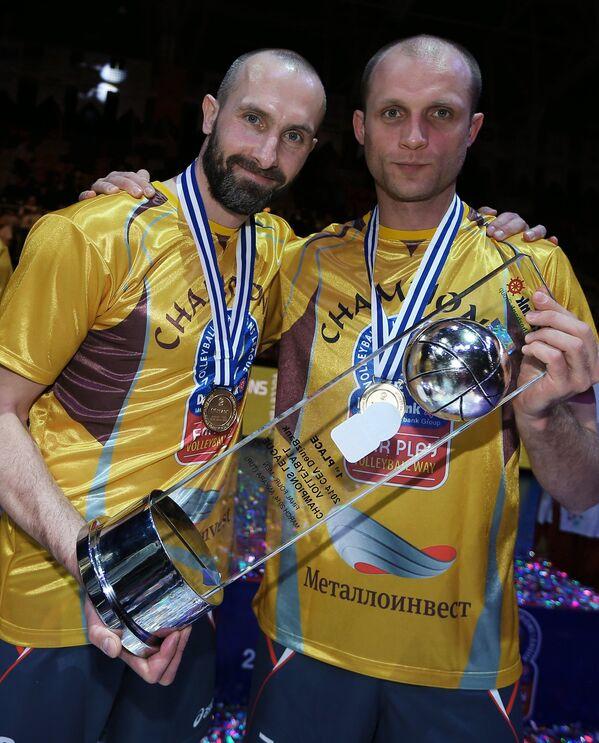 Сергей Тетюхин (слева) и Максим Пантелеймоненко