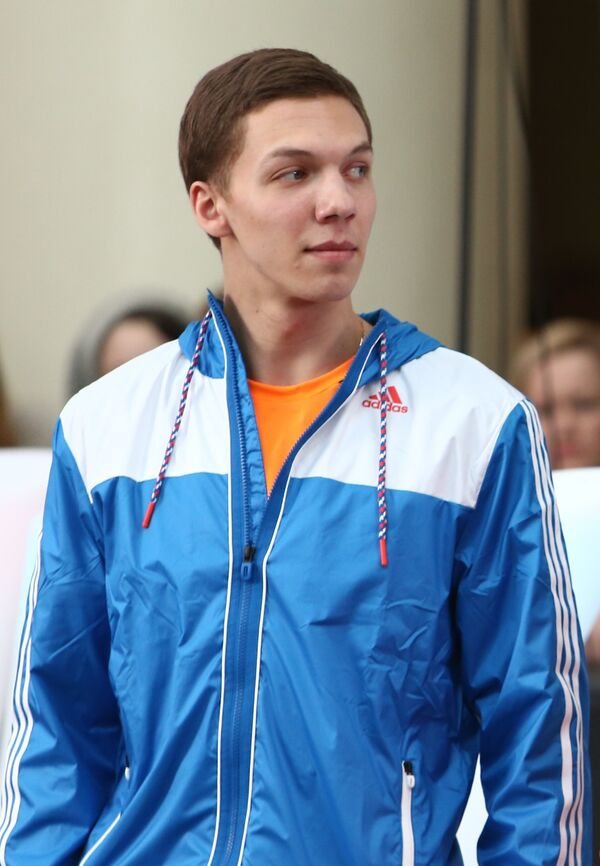 Олимпийский чемпион в фигурном катании Дмитрий Соловьев