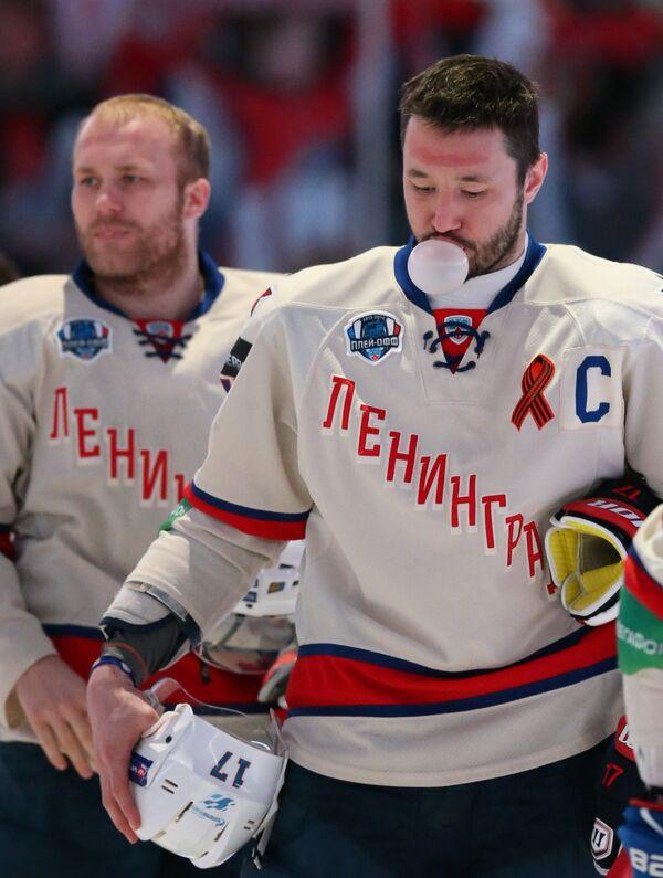 Патрик Торесен (слева) и Илья Ковальчук