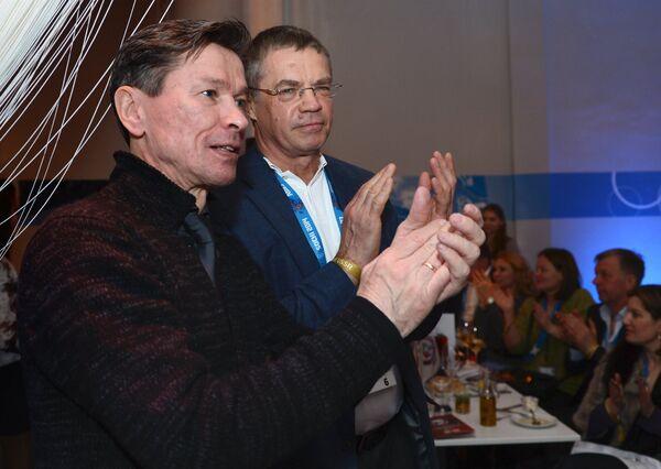 Вячеслав Быков (слева) и Александр Медведев