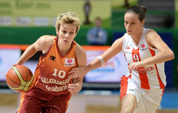 Баскетбол. Евролига. Женщины. Матч Спарта&K – Галатасарай