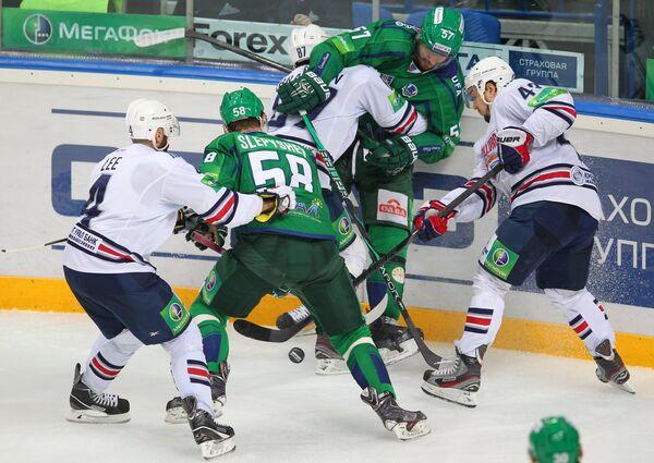 Хоккей. КХЛ. Матч Салават Юлаев - Металлург