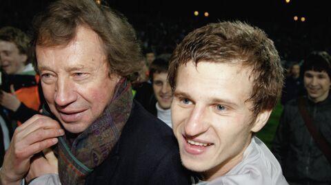 Александр Алиев (cправа) и Юрий Семин