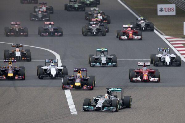 Старт Гран-при Китая