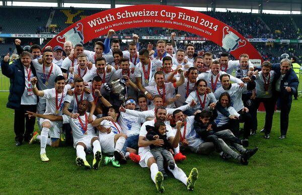 Футбольный клуб Цюрих в восьмой раз выиграл Кубок Швейцарии