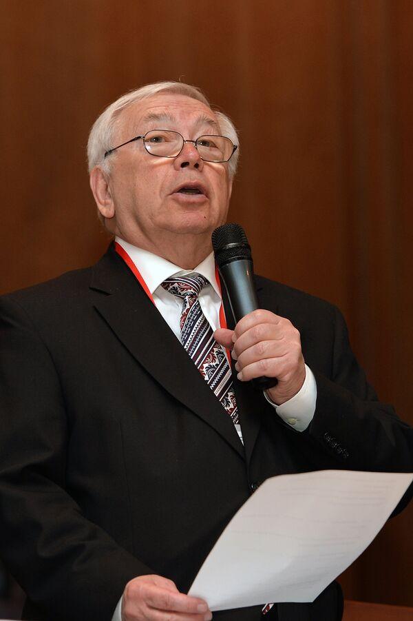 Президент Паралимпийского комитета России (ПКР) Владимир Лукин