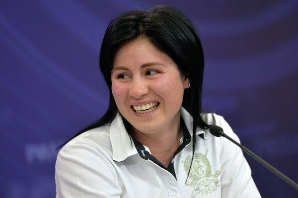 Двукратная чемпионка мира по сноуборду Екатерина Тудегешева