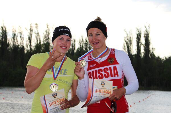 Наталья Подольская (слева) и Вера Собетова