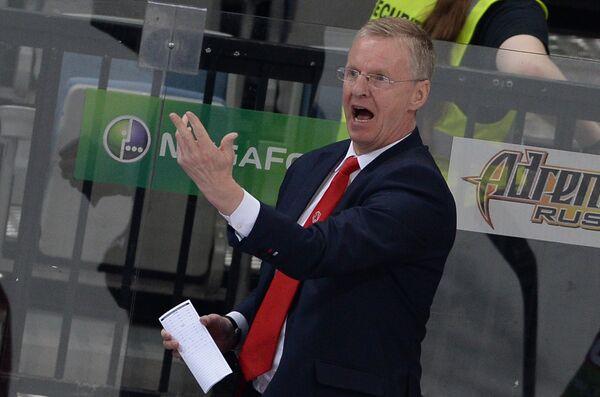 Главный тренер Льва Кари Ялонен