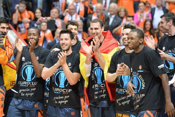 Игроки БК Валенсия