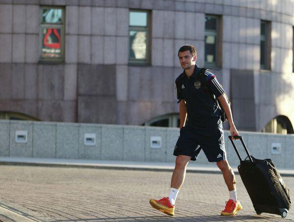 Защитник ЦСКА Георгий Щенников прибыл на сбор национальной сборной по футболу