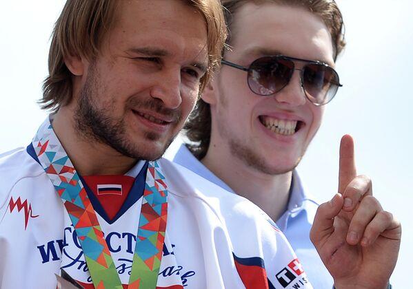 Андрей Зубарев (слева) и Александр Бурмистров