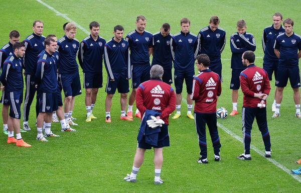 Игроки и тренеры национальной сборной России по футболу