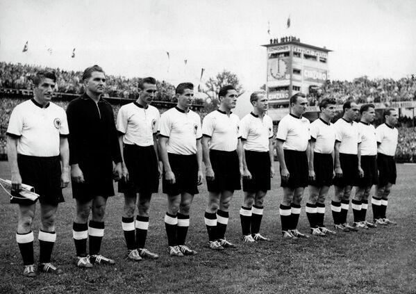 Футболисты сборной ФРГ, 1954 год