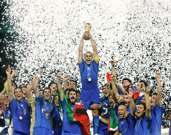 Футболисты сборной Италии, 2006 год