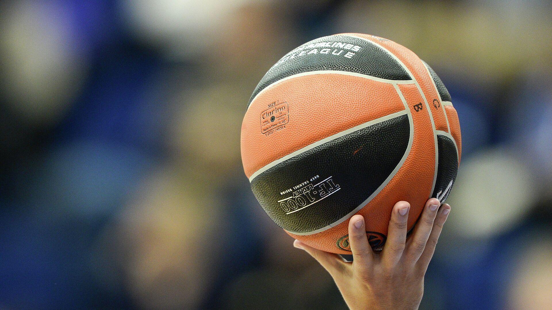 Баскетбольный мяч - РИА Новости, 1920, 19.01.2021