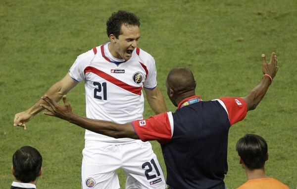 Форвард сборной Коста-Рики и краснодарской Кубани Маркос Уренья.