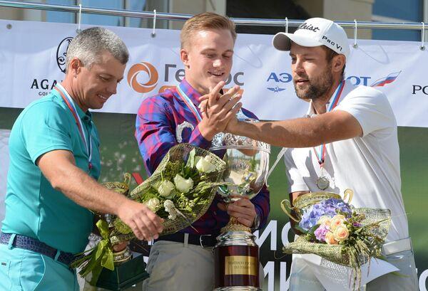 Константин Лифанов, Владимир Осипов и Андрей Павлов (слева направо)