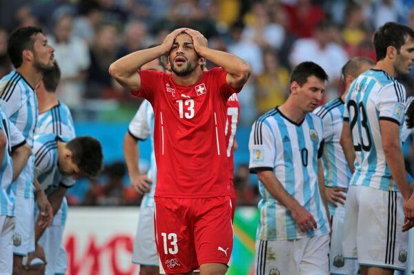 Защитник сборной Швейцарии Рикардо Родригес