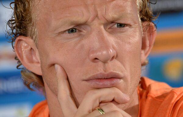 Нападающий сборной Нидерландов Дирк Кёйт