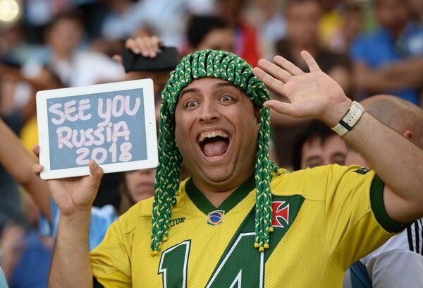 Бразильский болельщик