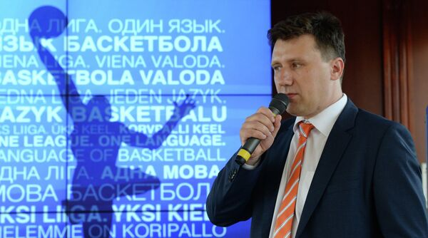 Генеральный директор Единой Лиги ВТБ Андрей Широков