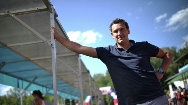 Главный тренер сборной России по современному пятиборью Андрей Моисеев