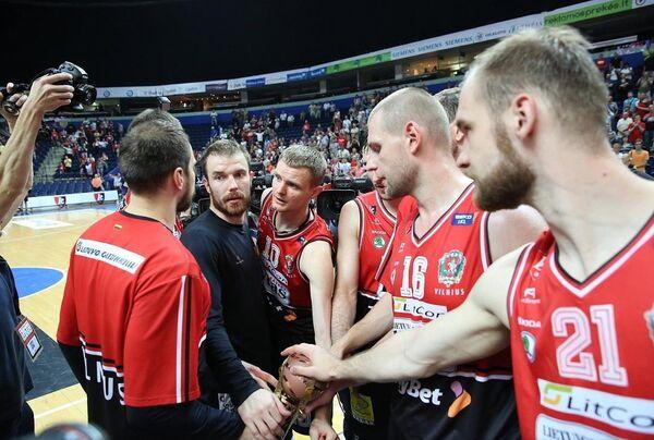 Баскетболисты Летувос Ритас