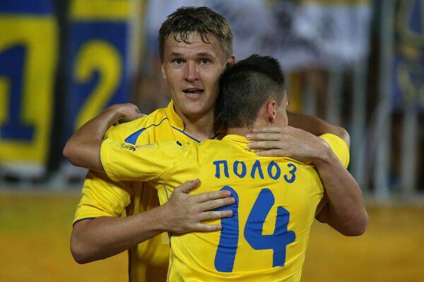 Александр Бухаров (слева) и Дмитрий Полоз