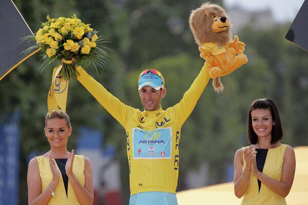 Велогонщик Астаны Винченцо Нибали стал победителем Тур де Франс-2014