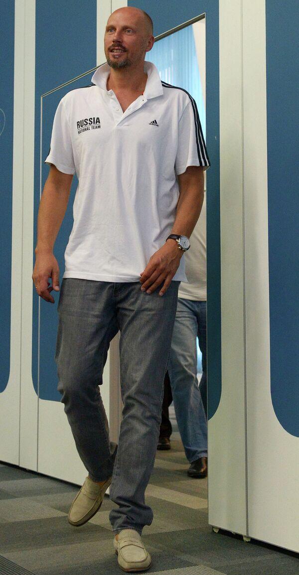 Генеральный менеджер сборной России по баскетболу Дмитрий Домани