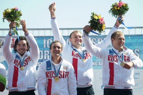 Кирилл Шамшурин, Расул Ишмухамедов, Кирилл Мелантьев и Илья Первухин