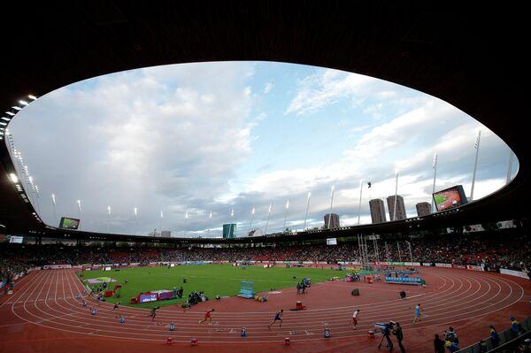 Арена Цюриха, где прошли соревнования ЧЕ по легкой атлетике.