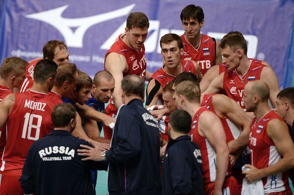 Волейбол. Товарищеский матч. Мужчины. Россия - Аргентина