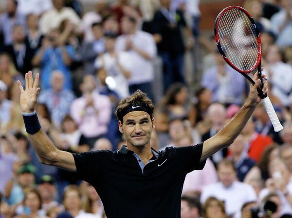 Роджер Федерер на US Open