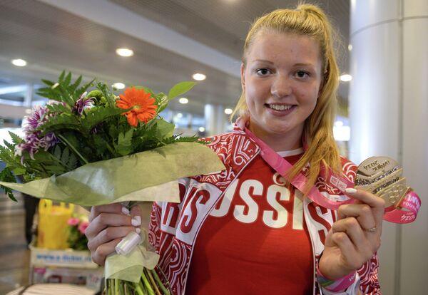 Олимпийска чемпионка Алена Бугакова